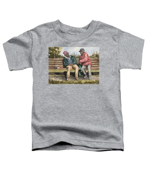 Remembering The Good Times Toddler T-Shirt