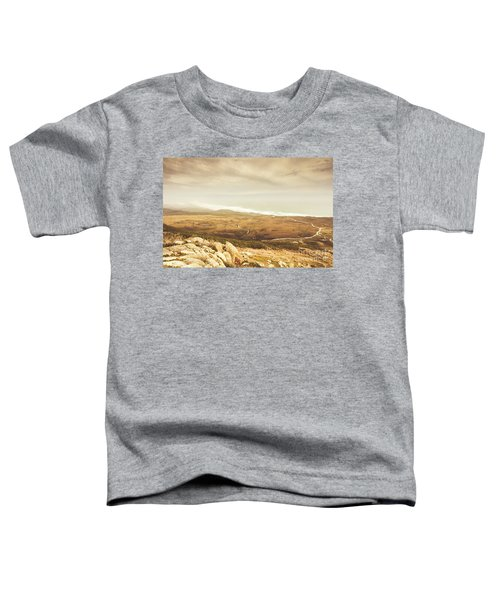 Remote Roads And Foggy Coastlines Toddler T-Shirt
