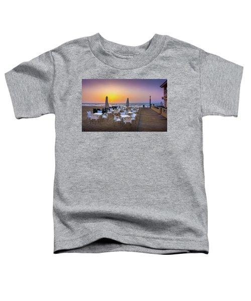 Restaurant Sunrise, Spain. Toddler T-Shirt