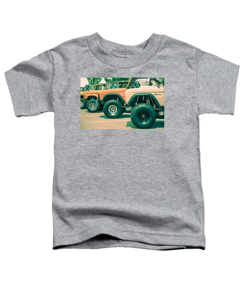 Retro Bronco Heaven Toddler T-Shirt