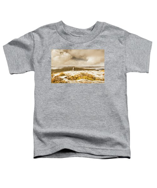 Retro Mountaintop Views Toddler T-Shirt