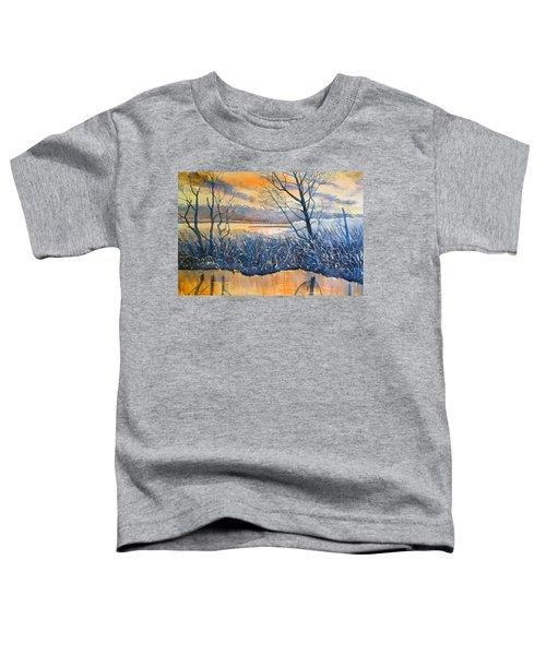 Rhapsody In Gold Toddler T-Shirt