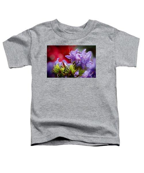Rhododendron Bluebird Toddler T-Shirt