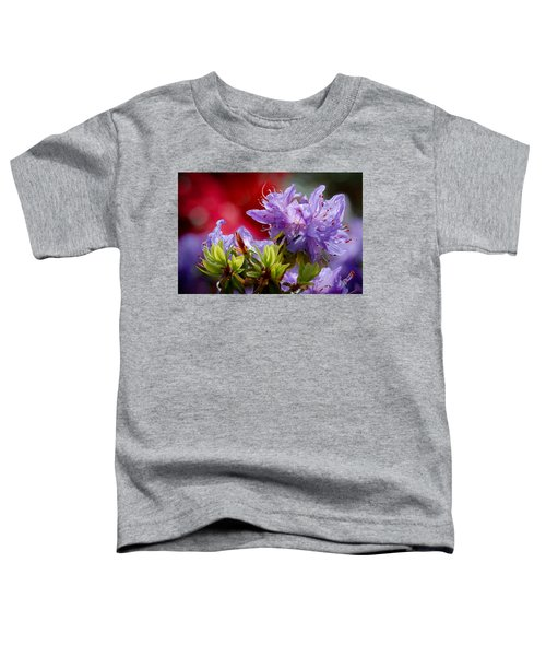 Rhododendron Bluebird Toddler T-Shirt