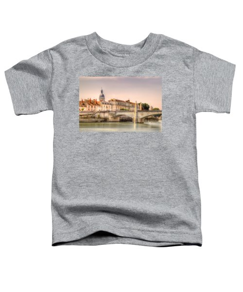 Bridge Over The Rhone River, France Toddler T-Shirt