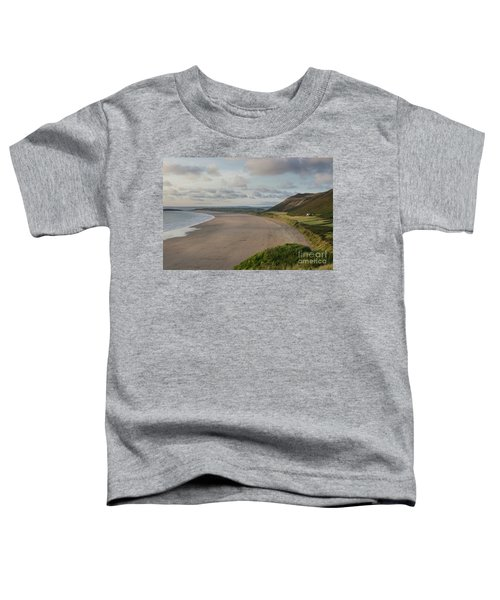Rhossili Bay, South Wales Toddler T-Shirt