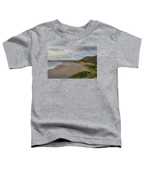 Rhossili Bay, South Wales Toddler T-Shirt