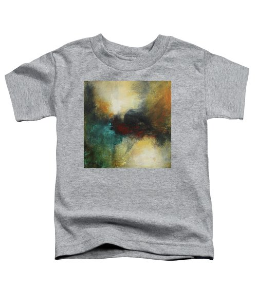 Rich Tones Abstract Painting Toddler T-Shirt