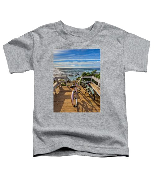 Ride With Me To The Beach Toddler T-Shirt