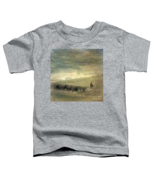 Rider In The Storm Toddler T-Shirt
