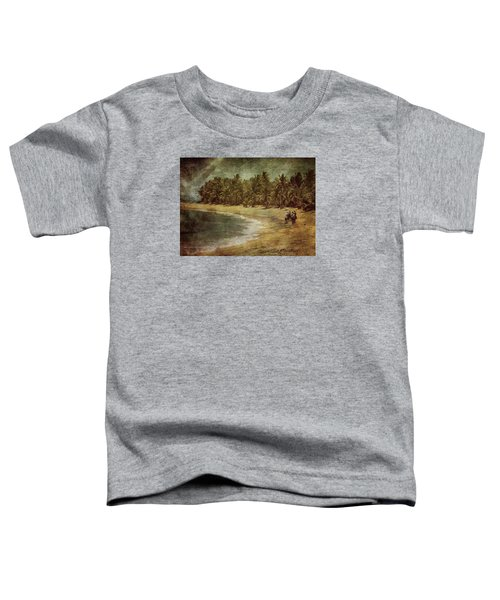 Riding On The Beach Toddler T-Shirt