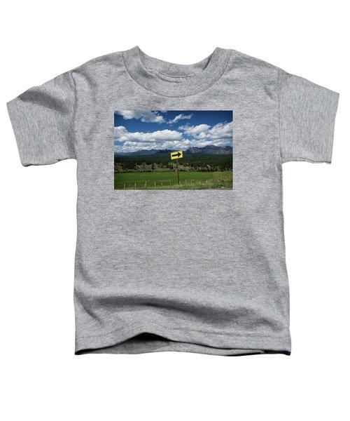 Right This Way Toddler T-Shirt