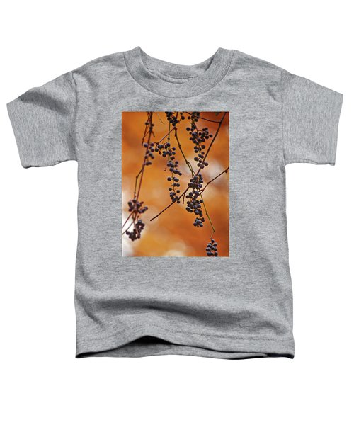 Ripe Wild Grapes  Toddler T-Shirt