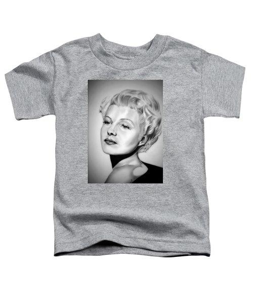 Rita Hayworth Toddler T-Shirt