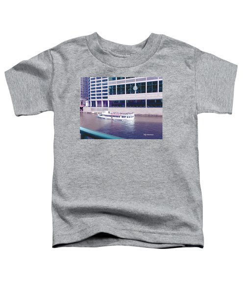 River Boat Tour Toddler T-Shirt