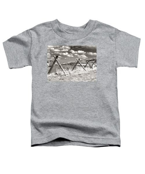 Toddler T-Shirt featuring the photograph River Drama by Susan Kinney