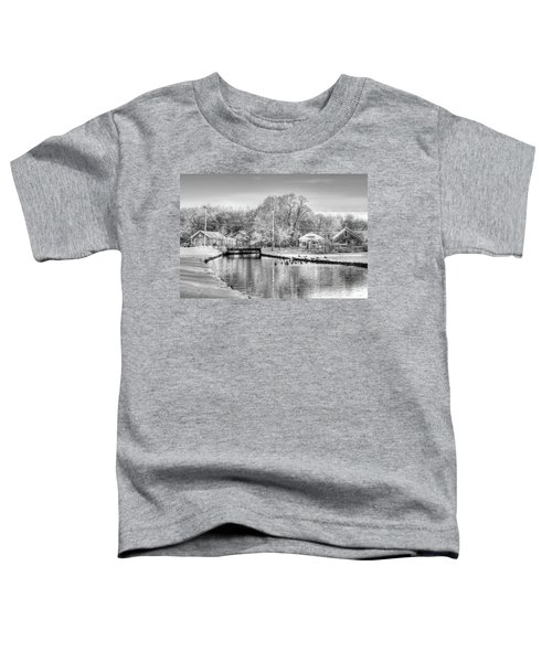 River In The Snow Toddler T-Shirt
