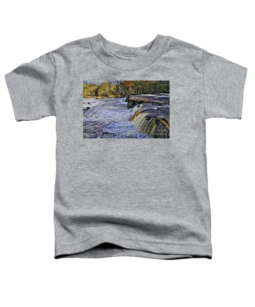 River Swale At Richmond Yorkshire Toddler T-Shirt