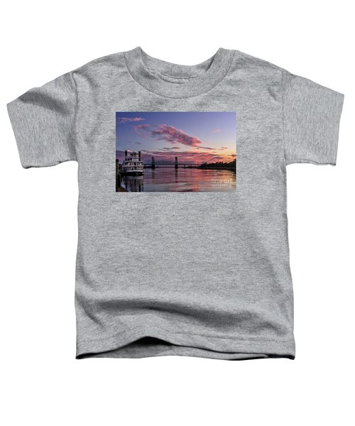 Cape Fear Riverboat Toddler T-Shirt