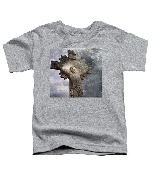 Riverside Cemetery Cross Toddler T-Shirt
