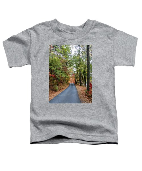 Road In The Woods Toddler T-Shirt