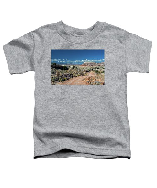 Road To Cathedral Valley Toddler T-Shirt