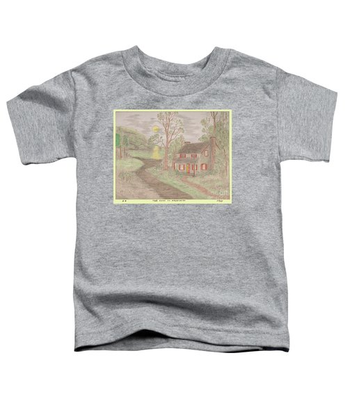 Road To Happiness Toddler T-Shirt