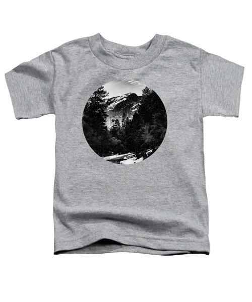 Road To Wonder, Black And White Toddler T-Shirt by Adam Morsa