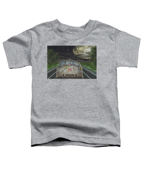 Road Trip In The Rain Toddler T-Shirt