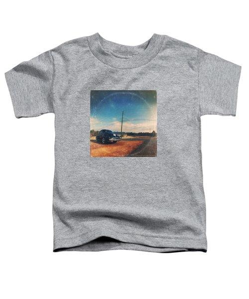 Roadside Classic - America As Vintage Album Art Toddler T-Shirt
