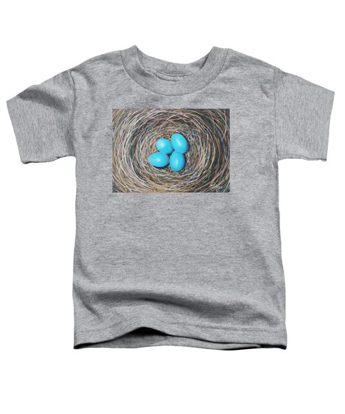 Robin's Eggs Toddler T-Shirt