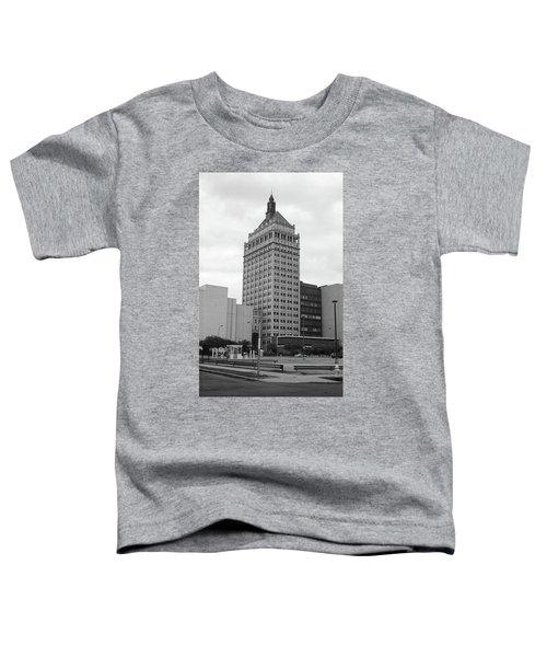 Rochester, Ny - Kodak Building 2005 Bw Toddler T-Shirt