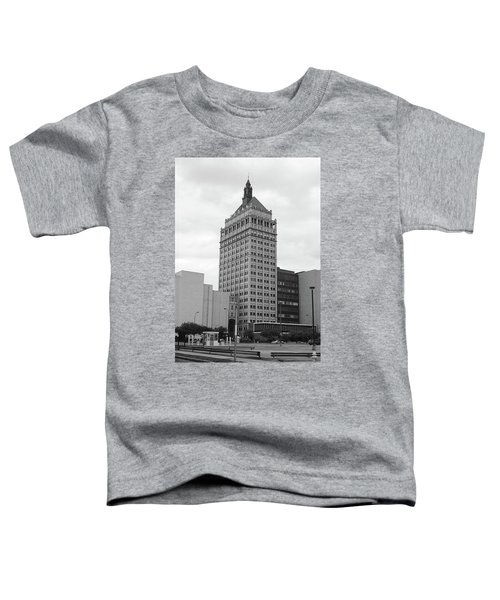 Rochester, Ny - Kodak Building 2005 Bw Toddler T-Shirt