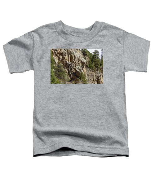 Toddler T-Shirt featuring the photograph Rock Climbers Paradise by James BO Insogna