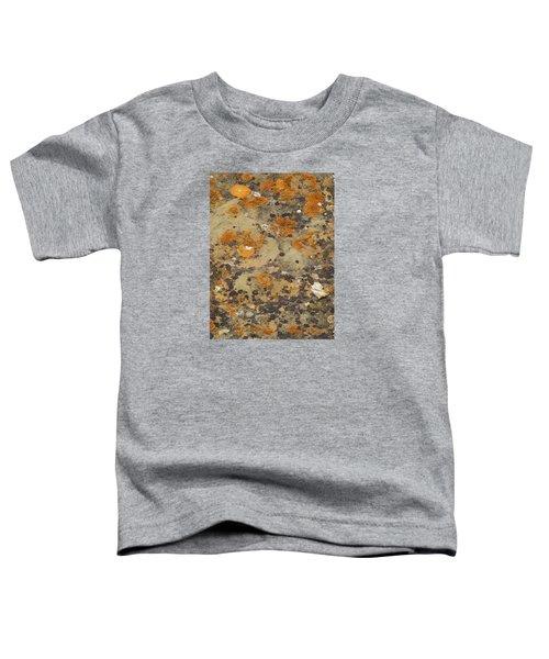 Rock Pattern Toddler T-Shirt
