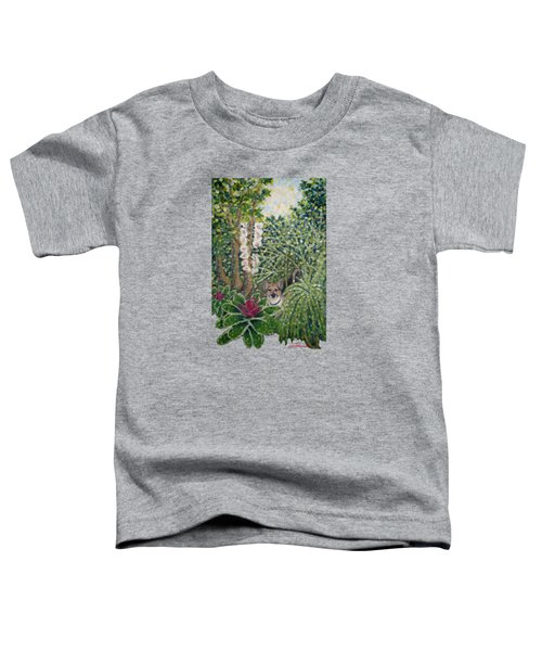 Rocke's Garden Clothing Toddler T-Shirt by Jim Rehlin