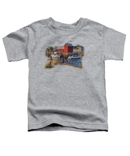 Rockport Waterfront Toddler T-Shirt
