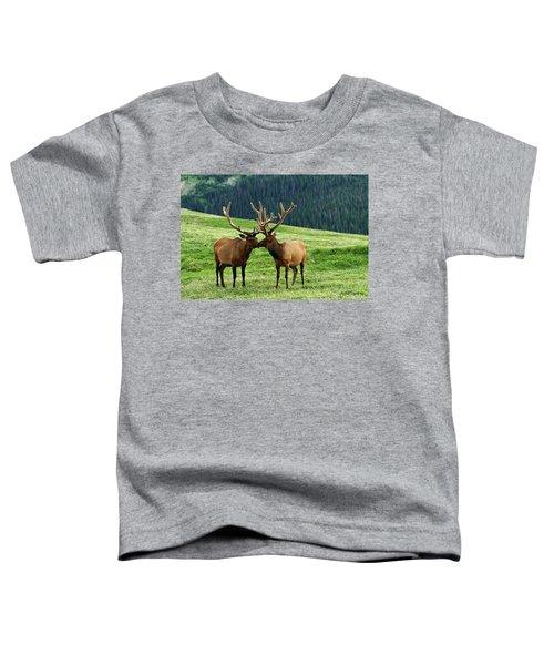 Rocky Mountain Elk 2 Toddler T-Shirt