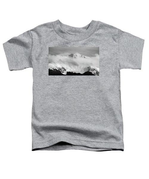 Rocky Mountain Snowy Peak Toddler T-Shirt