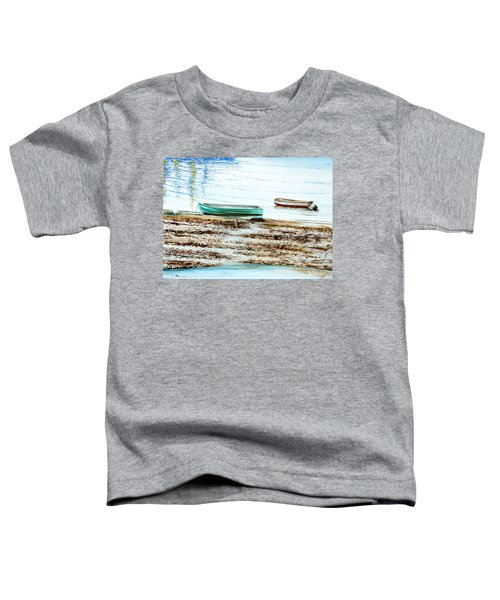 Rocky Neck Runabout Skiff Toddler T-Shirt