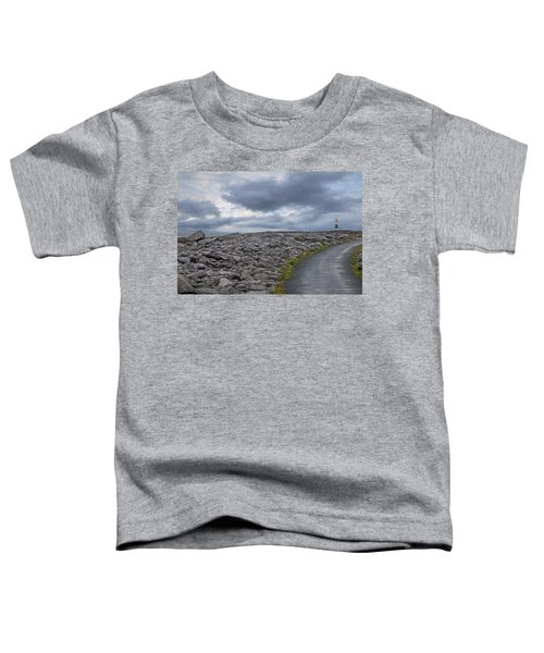 Rocky Road To The Lighthouse Toddler T-Shirt