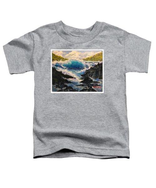 Rocky Sea Toddler T-Shirt