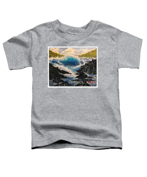 Rocky Sea Toddler T-Shirt