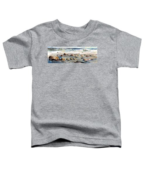 Rocky Seashore Toddler T-Shirt