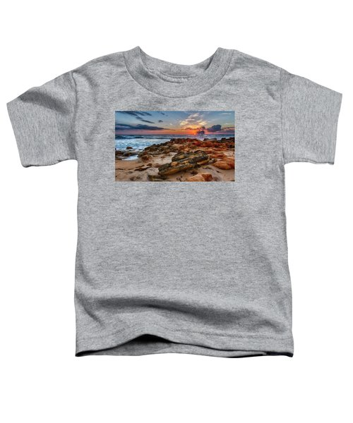 Rocky Sunrise Toddler T-Shirt