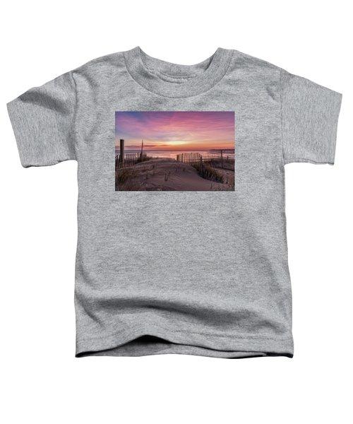 Rodanthe Sunrise Toddler T-Shirt