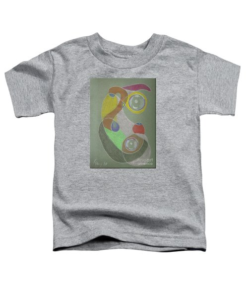 Roley Poley Vertical Toddler T-Shirt by Rod Ismay