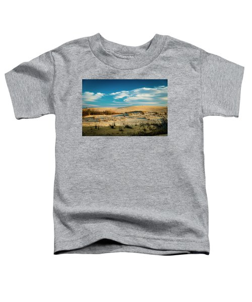 Toddler T-Shirt featuring the photograph Rolling Sand Dunes by Donald Brown