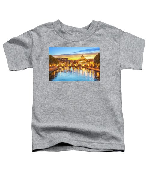 Rome At Twilight Toddler T-Shirt