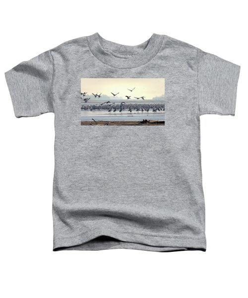 Roosting On The Platte Toddler T-Shirt
